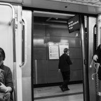 в метро :: Sofia Rakitskaia