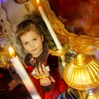 дама в красном :: Анна Скиргика