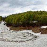 Хмелёвские озёра. Панорама :: Николай