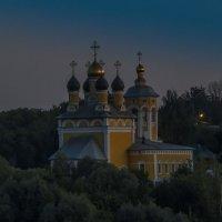 Храм Николы Мокрого в лунном свете :: Сергей Цветков