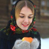 Русская красавица Настенька :: Татьяна Колганова