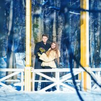 Романтическая фотосессия Андрея и Кати :: Марина Дадонова