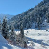 горы в снегу :: Горный турист Иван Иванов
