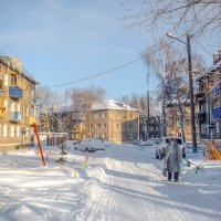 Зима в городе :: Вячеслав Баширов