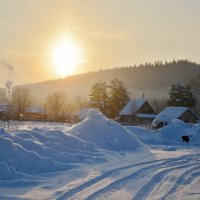 зимнее утро :: Константин Трапезников