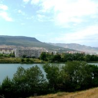 Махачкала. Вид на озеро Вузовское и Северо - Запад города. :: Владимир Драгунский