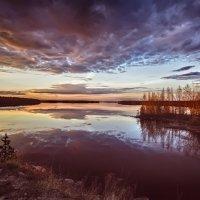 Тихий вечер на природе :: Роман Дудкин