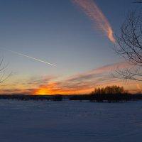 На закате :: Валерий Медведев