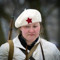 Они тоже защичали и ныне тоже...Вас женщины тоже с праздником Днем защитника Отечества !!! :: Болеслав (Boleslav)