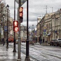 По зимним улицам  столицы... :: Лара ***