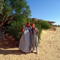 "У ""Ворот пустыни"" Сахара. :: Чария Зоя"