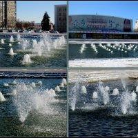 Зимний фонтан :: Нина Бутко