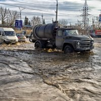 паводок на дороге.. :: юрий иванов