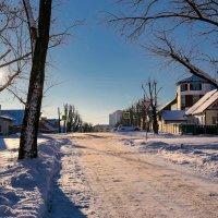 Морозный денек в Минске :: Алексей Матюш