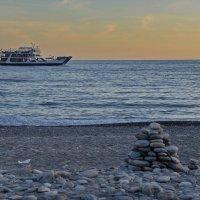 Осенний пляж, Сугия, Крит :: Владимир Брагилевский