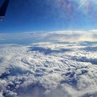 """"""" Снежное """"небо! с высоты 10 000 м :: Клара"""