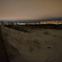 Огни вечернего Северодвинска. :: Михаил Поскотинов