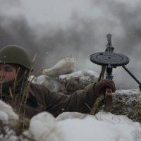 Реконструкция военных действий на 23.02.17 в Жуковском :: Светлана Соловьева