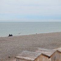 Галечный пляж в Дьепе :: Фотограф в Париже, Франции Наталья Ильина