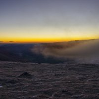 Рассвет на плато Бермамыт. :: Ирина Нафаня