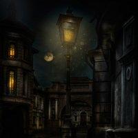 Старый уличный фонарь :: Нина