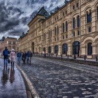 Торговые ряды и Гум на Красной, в февральский с дождиком четверг :: Alexsei Melnikov