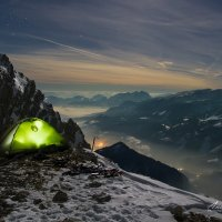 Ночь на скалах :: Андрей И