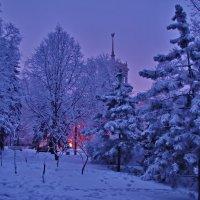 Зимний вечер в... :: Андрей K.