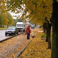 Осеньв городе :: Александр Аксёнов