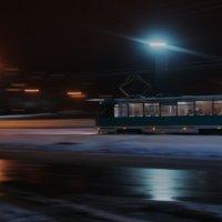 Ночной трамвай :: Александр Аксёнов