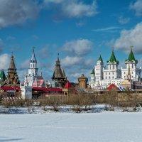 Москва. Вид на Измайловский Кремль :: Борис Гольдберг