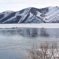 Красноярское водохранилище п Усть - Абакан :: Виктор
