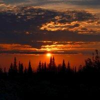 На закате :: Татьяна Соловьева
