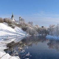 Зимний день в Бужарово :: Ирина Бирюкова