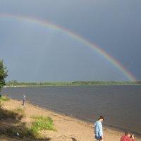 Радуга над озером! :: Татьяна