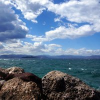 Море. Остров Агистри (Греция). :: Нелли Семенкина