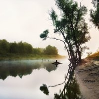 Утро на реке :: Roman Globa