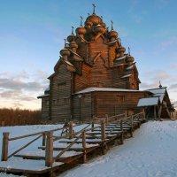 Церковь Покрова Пресвятой Богородицы в усадьбе Богословка. :: Владимир Питерский
