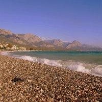 Галечный пляж. :: Мила Бовкун