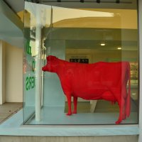 *Красная корова * К . Малевича :: Николай Танаев