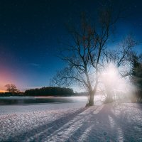 Лунный пейзаж :: Татьяна Афиногенова