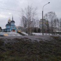 Вид на Клинический центр им. Ахмедова на ул. Аккуратова :: Viktor