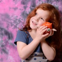 Лиза и вязаная совушка :: Александра nb911 Ватутина