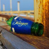 Огрызок бутылки:)) :: Юлия Яровенко
