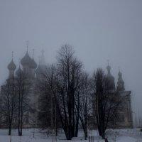 Храм на рассвете :: Sergey Lebedev