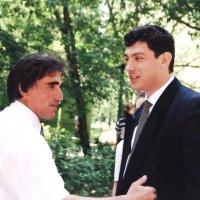 Борис Немцов в гостях у Заури Абуладзе :: Заури Абуладзе