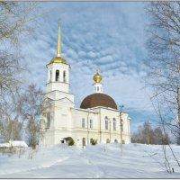 Небо над Свято-Троицким Собором. :: Марина Никулина
