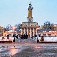 Пожарная каланча - главнная достопримечательность Костромы :: Павел Кочетов