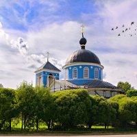 церкви Подмосковья. Покровская церковь. :: Андрей Куприянов