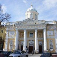 Лютеранская церковь святой Екатерины.  Год постройки 1771. Арх. Фельтен Ю. М. :: Елена Павлова (Смолова)